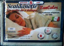 SCALDASONNO-SCALDANOTTE MATRIMONIALE 160X165  100% pura lana vergine merinos