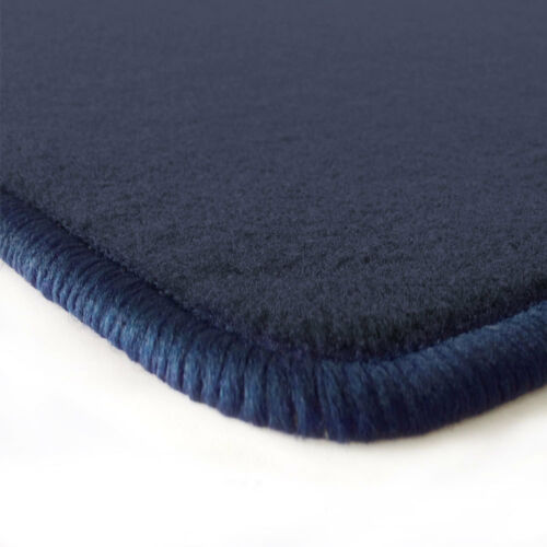 01-07 Velours dunkelblau Fußmatten für BMW Mini R52 Cabrio Bj