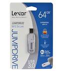 Lexar JumpDrive M10  64GB USB 3.0 Flash Drive Windows or Mac Hi Speed free ship!