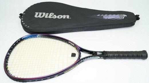 Wilson SLEDGE HAMMER 3.8 Racchette da tennis l4 oversize Racchetta 110 anziani LITE NUOVO