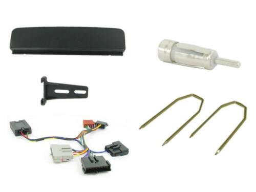 Ford Focus MK1 Single Din coche estéreo kit de montaje /& Tallo Control Negro