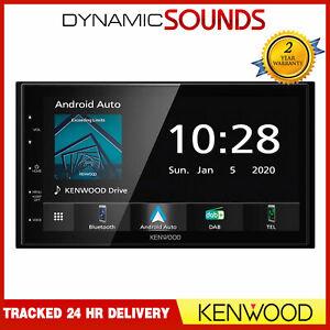 "Kenwood DMX5020DABS 6.8"" Double DIN DAB Radio Bluetooth Android Auto CarPlay"