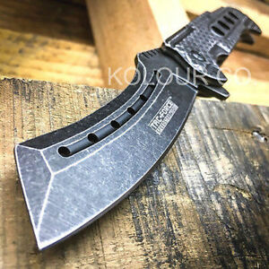 9-034-TAC-FORCE-Razor-Spring-Assisted-Open-Folding-Pocket-Knife-Stonewash-New