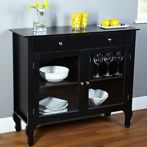Black And White Buffet Sideboard