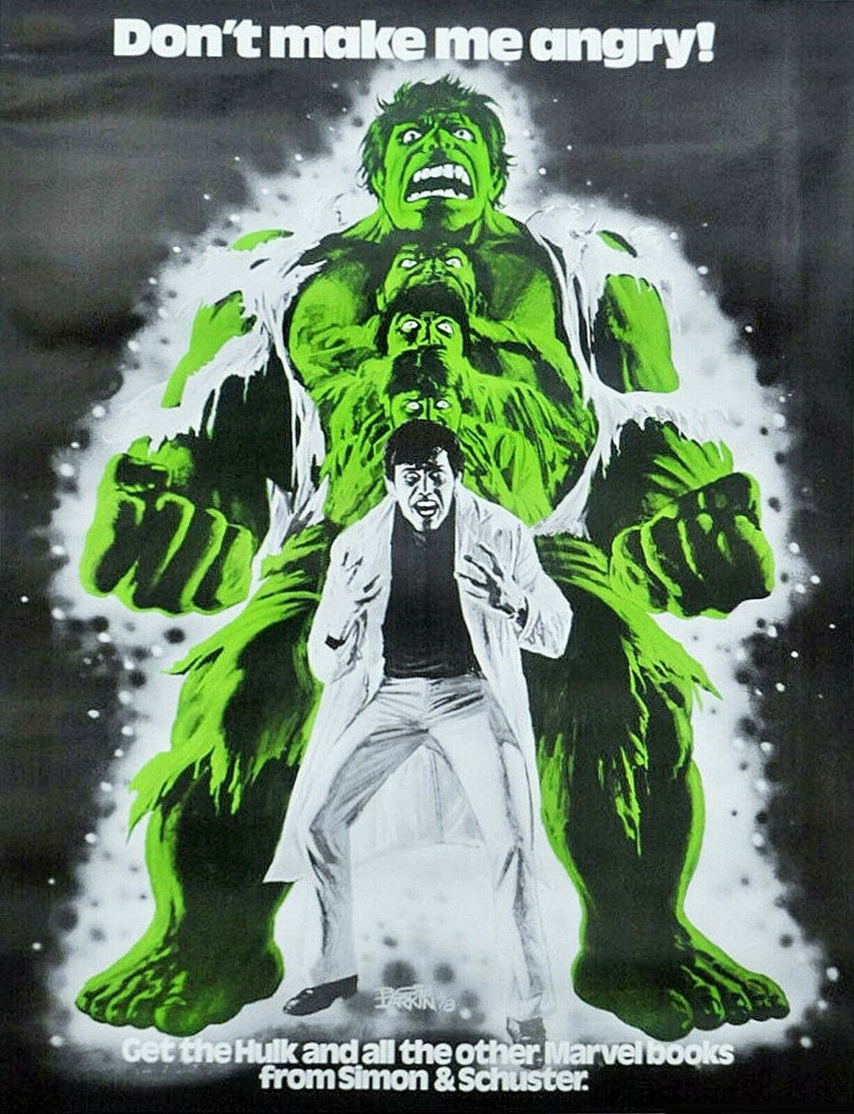 Incredible Hulk Poster PlaidStallions 5 Awesome Things on eBay