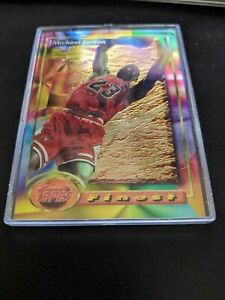 MICHAEL JORDAN 1993 TOPPS FINEST #1 CARD NBA HALL OF FAMER MJ BEAUTIFUL BULLS MJ