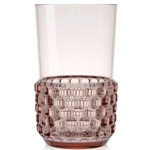KARTELL - JELLIES FAMILY - Set 4 Vasos Soda / Long Bebida Rosa - Detallista