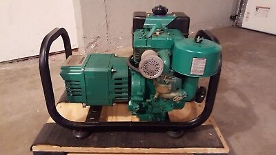 Coleman Powermate 4000 Watt Generator 8 Hp Briggs Stratton Engine Series 54 Ebay