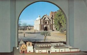 TUMACACORI-NATIONAL-MONUMENT-Arizona-Mission-Church-ca-1950s-Vintage-Postcard