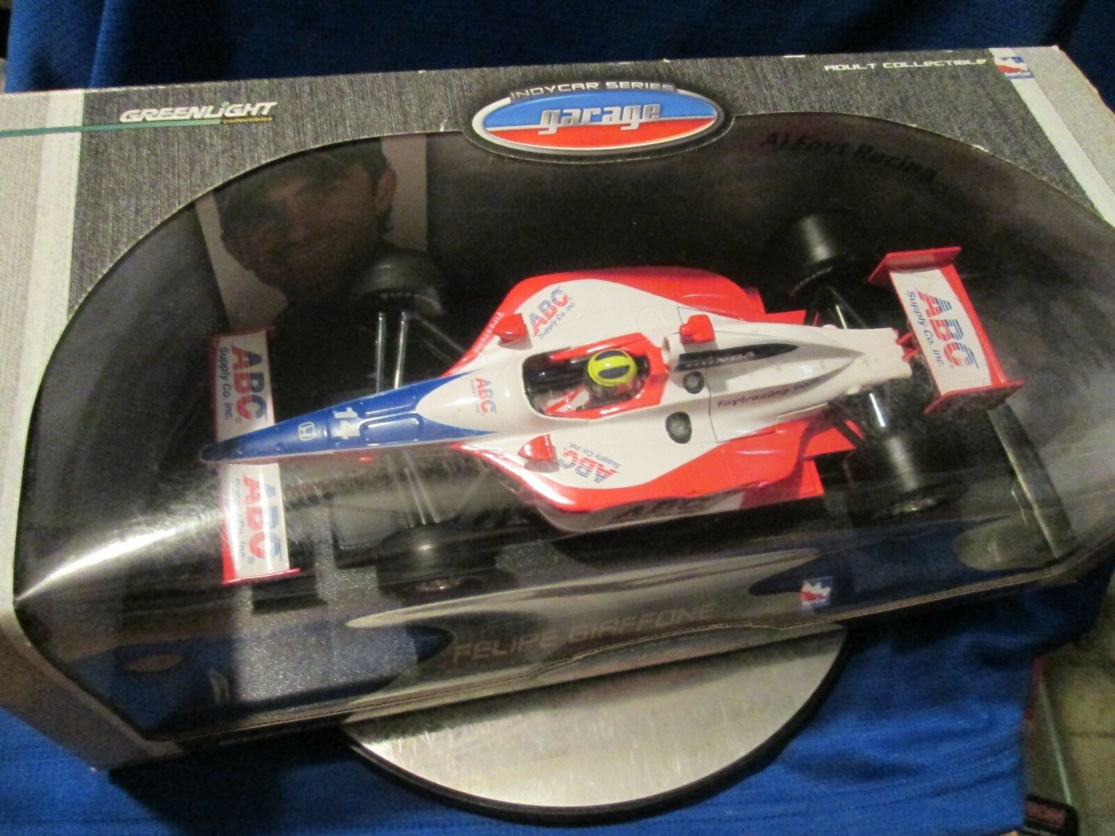 GREENLIGHT 1 18 18 18 2015 felipe giffone AJ FOYT racing ABC INDYCAR racing 0394cf