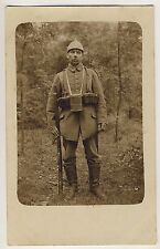 DEUTSCHER SOLDAT WW I GERMAN SOLDIER * Vintage Photo PC 1914/18