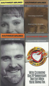 Southwest-Airlines-timetable-lot-4-1991-1994