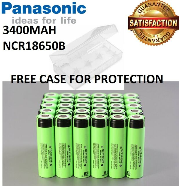 Genuine Panasonic NCR18650B 18650 3400mAh Li-ion 3.7V Rechargeable Battery Vape