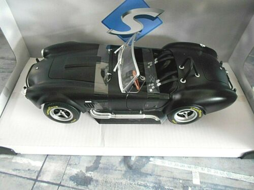AC Shelby Cobra ford v8 427 MKII negro Black Matt 1965 solido nuevo metal 1:18