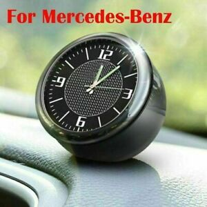Auto-Clock-Fuer-Mercedes-Benz-Refit-Innere-Luminous-Electronic-Quartz-Ornaments