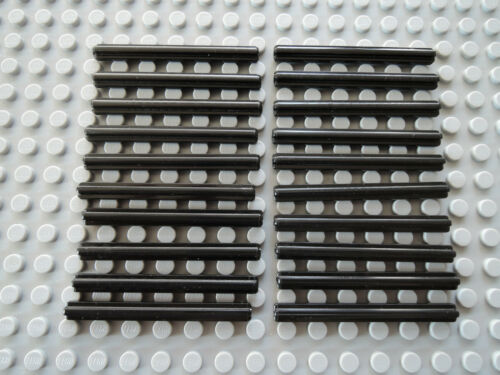 LEGO 20 x technic axe Croix Barre Croix AXE 6 L 3706 Noir