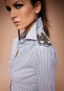 Blusa Camicetta Art Rose S Denny 1020 Camicia Tg qB1wBtUH