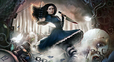 Alice Madness Returns POSTER 43X24 INCHES