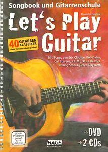 Alexander-Espinosa-Let-039-s-Play-Guitar-Band-1-Gitarrenschule-Noten-m-DVD-u-2-CDs