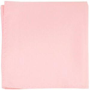New-men-039-s-polyester-solid-pink-hankie-pocket-square-formal-wedding-party-prom