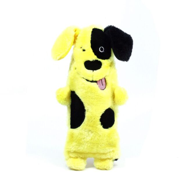 Outward Hound Plush Puppies WATER BOTTLE BUDDIES Dog Chew Toy Cool Down DOG
