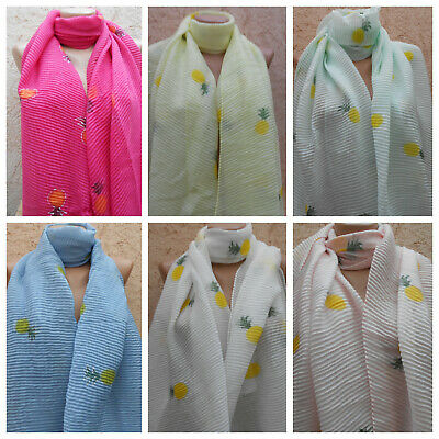 Stola, Schal , Chiffon Stola,bolero,tuch,scarf Hochzeit Überwurf Ananas Motive Buy One Give One