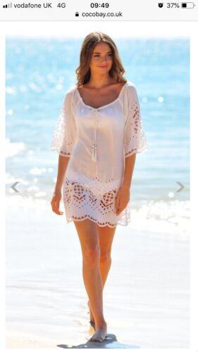 Bay Kaftan Size S Coco White Seaglass 40 Off qdU4WPwW
