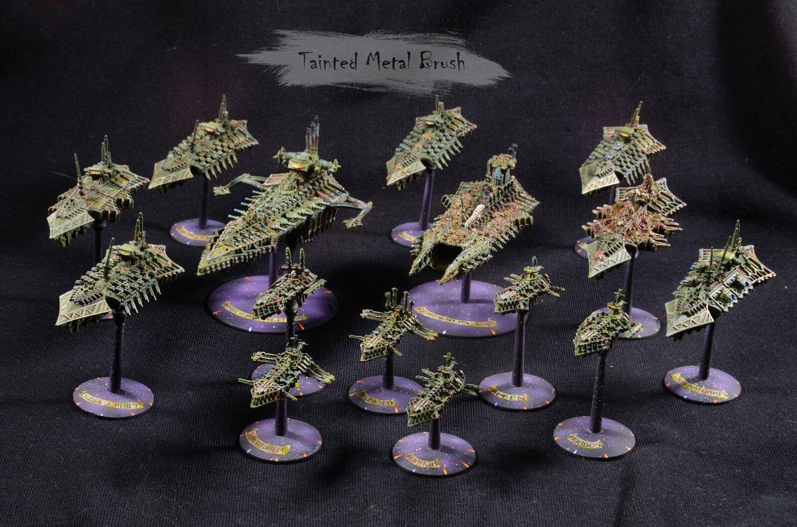 Battlefleet gothic Chaos fleet . Commision