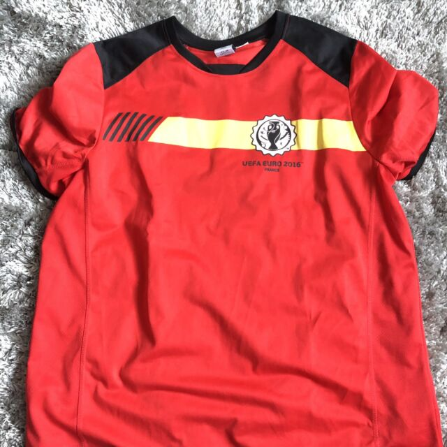 check out 9fdc2 aa816 Belgium soccer futbol 2014 Fifa World Cup Brasil jersey shirt Euro size XL