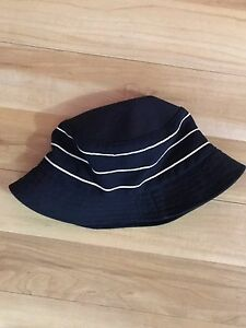 Supreme Team Crusher Bucket Hat Navy White S M SS12 Bape Ian Connor ... 7b4ae08ff34