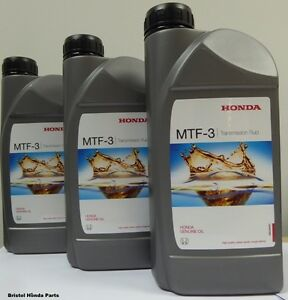 Genuine Honda MTF-3 Manual Gearbox Oil,Civic,Accord, CRV, S2000,Integra, Jazz | eBay
