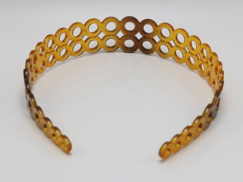 5 Coffee Plastic Circle Wide Alice Hair Band Headband 30mm Hair Accessories