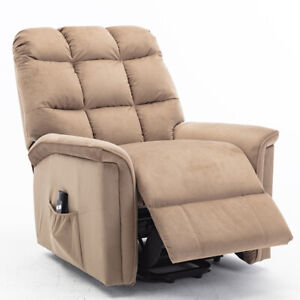 Power-Lift-Recliner-Chair-Sofa-Bed-Electric-Lifting-Armchair-Heavy-Duty-Suede