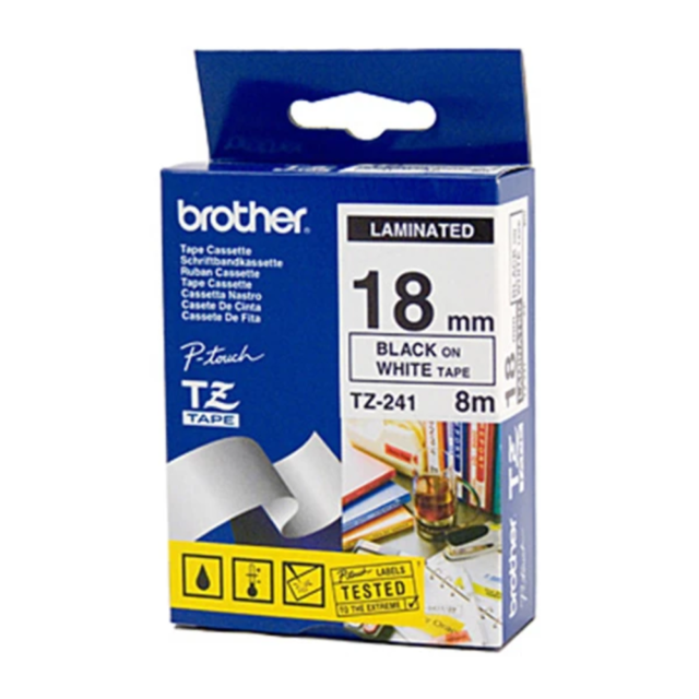 Brother TZe241 Labeling Tape 18 Mm
