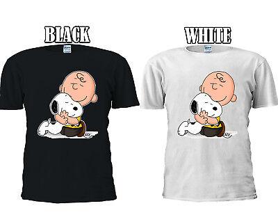Iniziativa Snoopy E Charlie Brown Love Huging T-shirt Da Baseball Gilet Uomini Donne Unisex 2704-mostra Il Titolo Originale Ultima Tecnologia