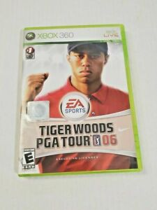 Xbox Live Tiger Woods PGA Tour 2005 Golf EA Sports Video Game Disc Case