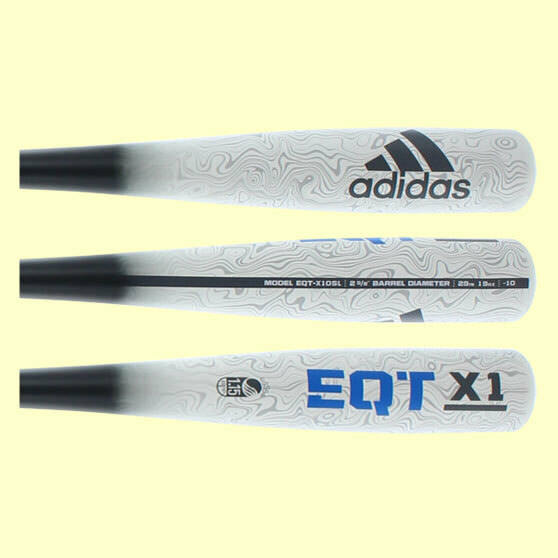 Adidas EQT X1 SL Senior League Bat - See variations for length and weight