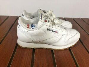 feee71e178bb5 Details about Reebok Men's Classic Leather Sneaker White/Gum 9.5 US