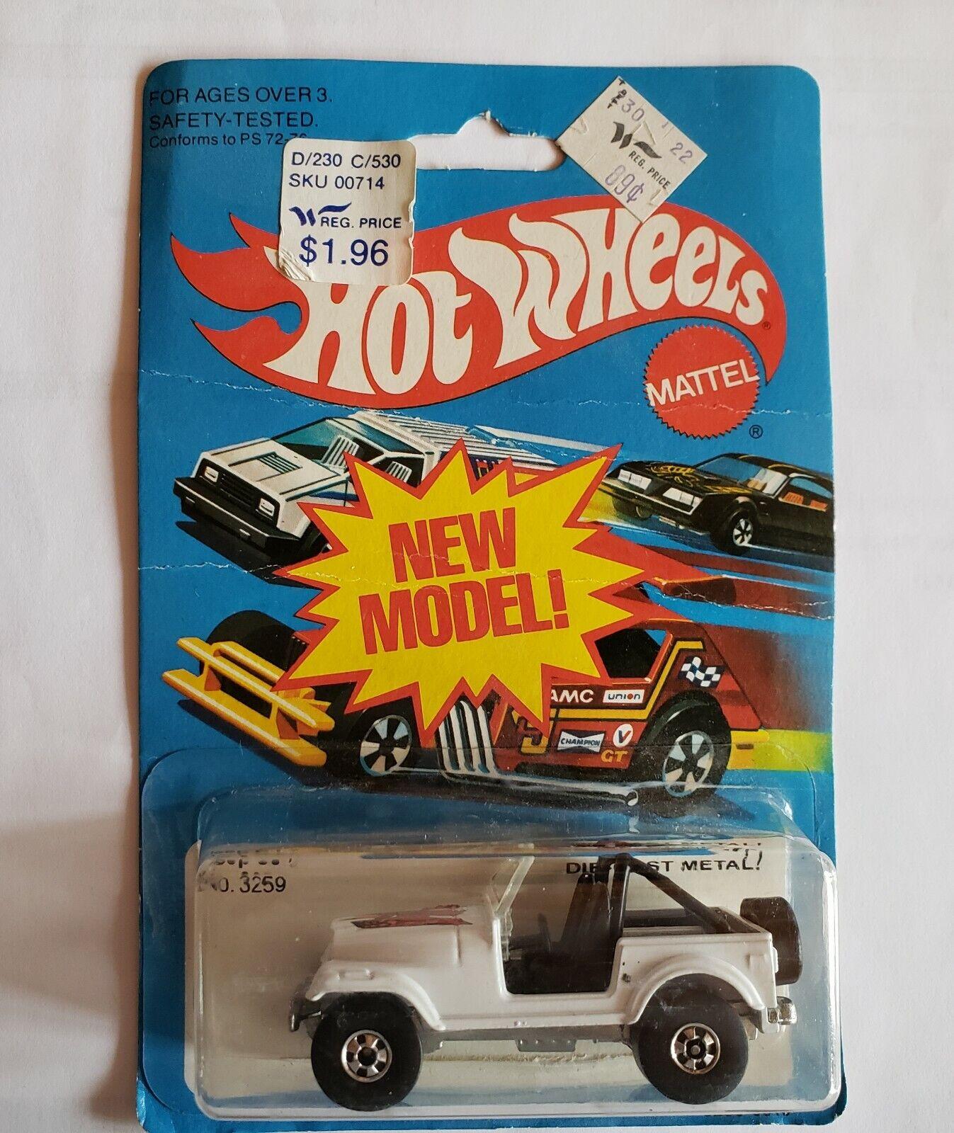 bienvenido a comprar Hot Hot Hot Wheels 1981 Jeep CJ7 Modelo 3259  se descuenta