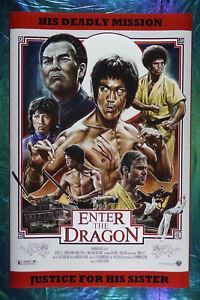 Bruce Lee Poster Enter the Dragon Framed Movie Poster Inspirational