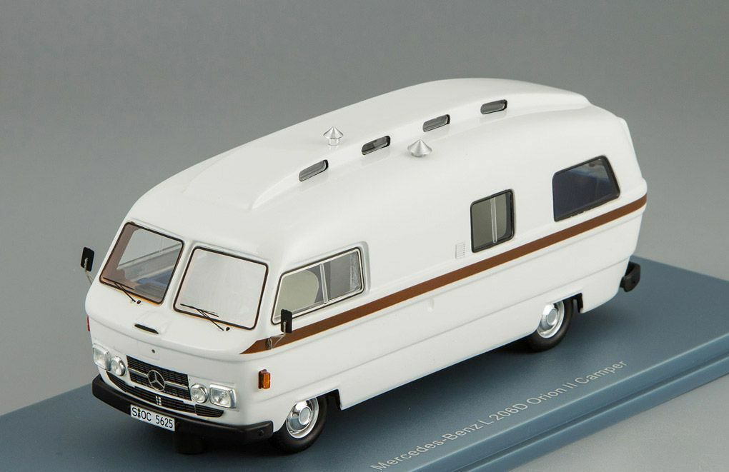 Mercedes-Benz L206D Orion II Camper 1974 1 43 NEO 45625