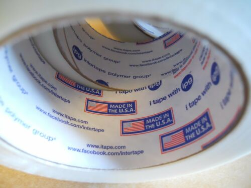"""Packing Tape Clear 1 Roll 2/"""" x 60 YDS Fiberglass Reinforced Filament Strapping"""