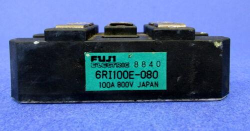FUJI ELECTRIC 100A 800V POWER MODULE 6RI100E-080 *PZB*