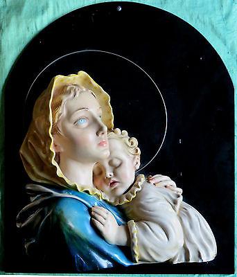 Madonna con Bambino. Capoletto anni '40