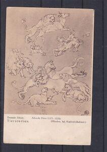 Kunstkarte - Tierstudien von Albrecht Dürer gelaufen ANSEHEN und LESEN
