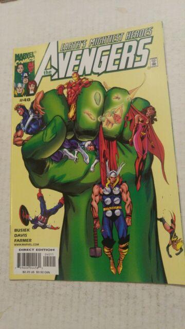 Avengers #40 May 2001 Marvel Comics Busiek Davis Farmer