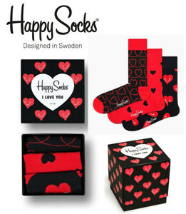 HAPPY-SOCKS-I-LOVE-YOU-GIFT-BOX-3-PAIR-XLOV08-4300-SOX-UNISEX-COMBED-COTTON