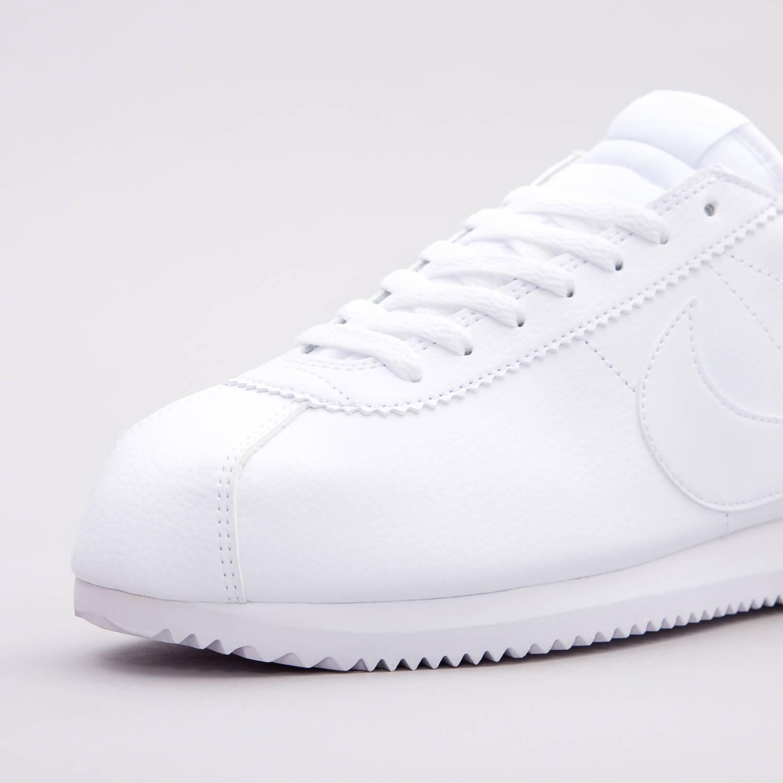 Nike Classic Cortez Tg EU Nuovo di zecca in scatola da Uomo in Pelle Bianco 47.5