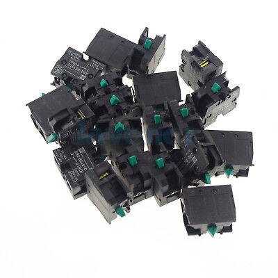 20pcsTELEMECANIQUE ZB2-BE101C NO CONTACT BLOCK REPLACES TELE 10A 400V NEW