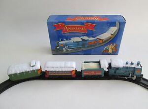 Anastasia Toy Train Sealed In Original Box 1997 Fox Film Promotion